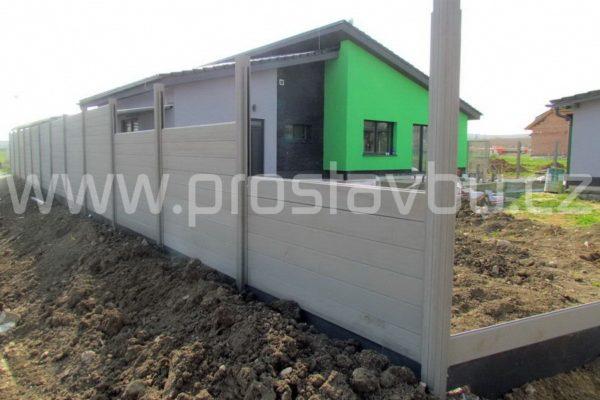 WPC plot Duofuse - realizace oplocení domu